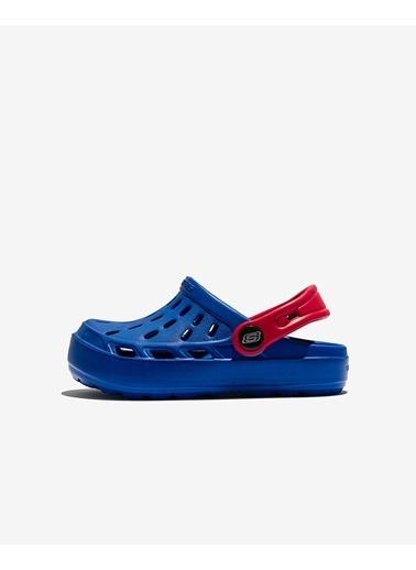Skechers Swifters Küçük Erkek Çocuk Mavi Sandalet 400064N BLU Mavi